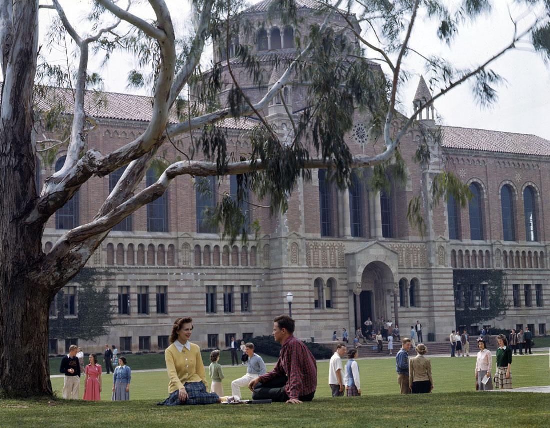 The World War II Dead of University of California at Los