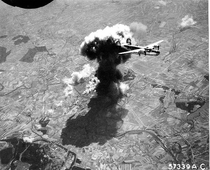 second world war won in less casualties by strategic bombing