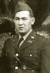 Captain Francis B. Wai of the 34th Infantry, awarded the Medal of Honor. He is the only Chinese-American to receive the medal, presented by President Bill Clinton in 2000.