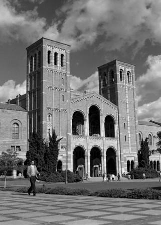 UCLA's Royce Hall. UCLA photography