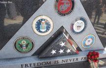 Fresno Vets Memorial Flag