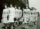 Womens Army Auxiliary Corps Recruits At Fort Des Moines Iowa 1942   U.S. Army