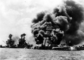 Battleship Row Pearl Harbor 1941