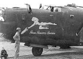 Heaven's Above B-24 WWII