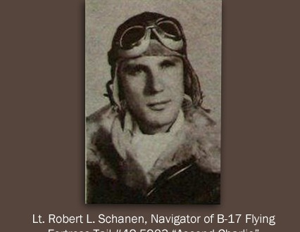 2nd LT Robert L. Schanen
