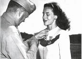 Rosemarie Maze, US Navy, following WWII