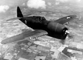P 47 Thunderbolt In Bomb Blast