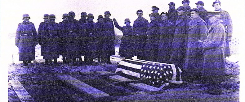 PVT Perry Franklin-POW-Funeral-by-Germans